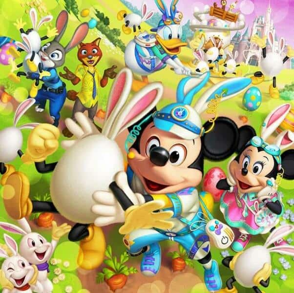 Disney Easter 2017 Tokyo Disneyland DisneySea