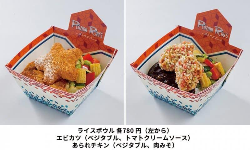 Ebi Katsu Chicken Rice Bowls Tokyo Disneyland