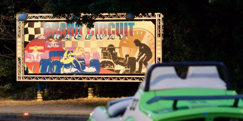 Photos of Final Lap of Grand Circuit Raceway at Tokyo Disneyland