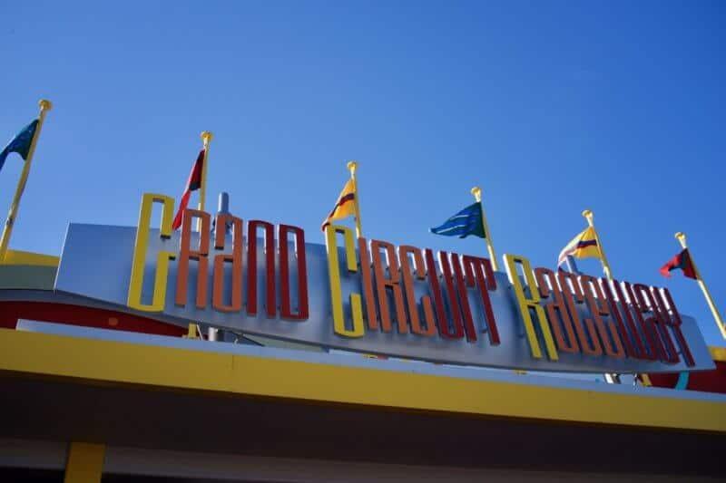 Grand Circuit Raceway Tokyo Disneyland Sign
