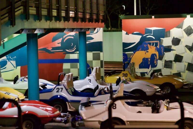 Grand Circuit Raceway Tokyo Disneyland Vehicle Line Up