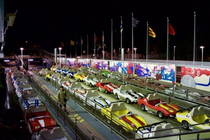 Grand Circuit Raceway Tokyo Disneyland Vehicle Line Up Final Lap