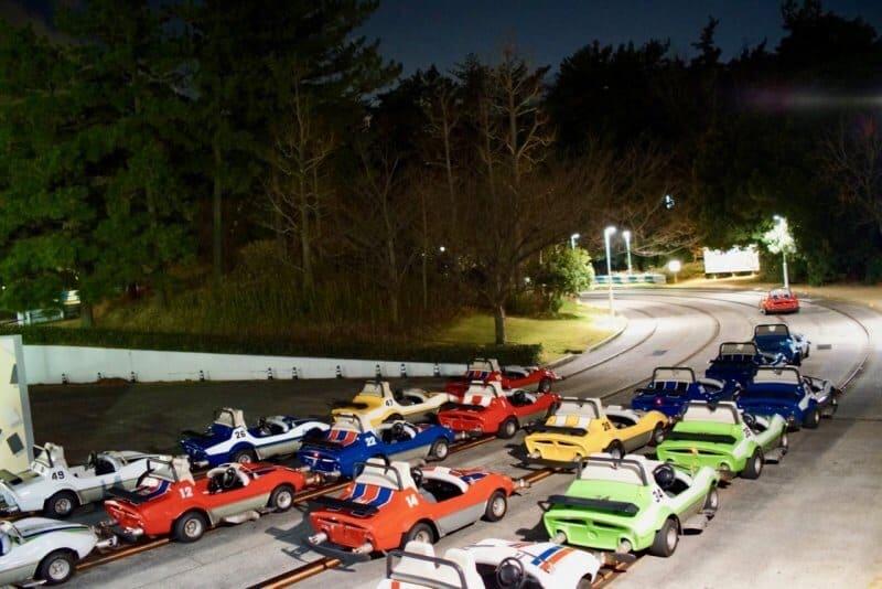 Grand Circuit Raceway Tokyo Disneyland Vehicle Line Up Last
