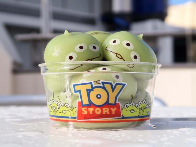 Green Alien Mochi Tokyo Disneyland