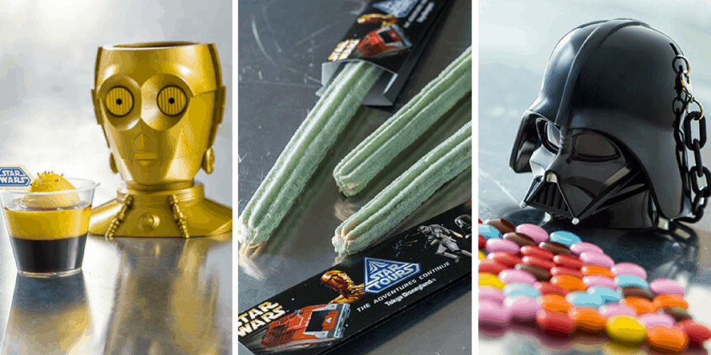 New Green Star Wars Churro & Other Desserts at Tokyo Disneyland