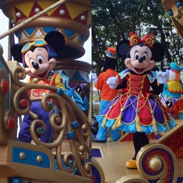 Mickey Minnie Flights of Fantasy New Faces Hong Kong Disneyland