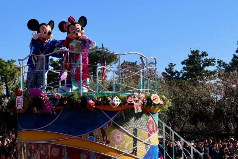 Mickey Minnie Japanese Kimono Tokyo Disneyland New Years 2017