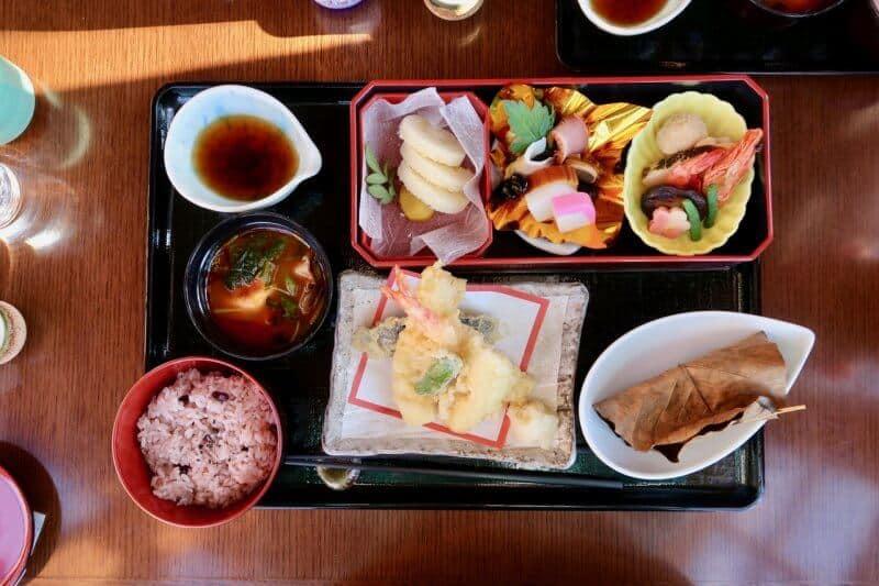 New Years Special Set Restaurant Sakura Tokyo DisneySea 2017