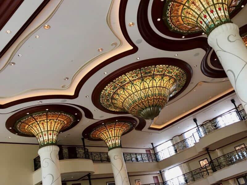 Shanghai Disneyland Hotel Lobby Ceiling