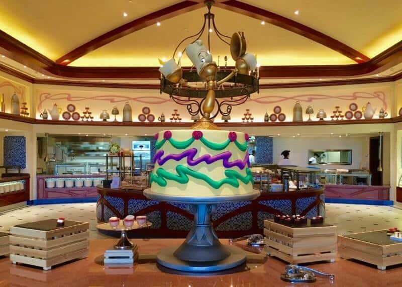 Shanghai Disneyland Hotel Lumieres Kitchen Decor