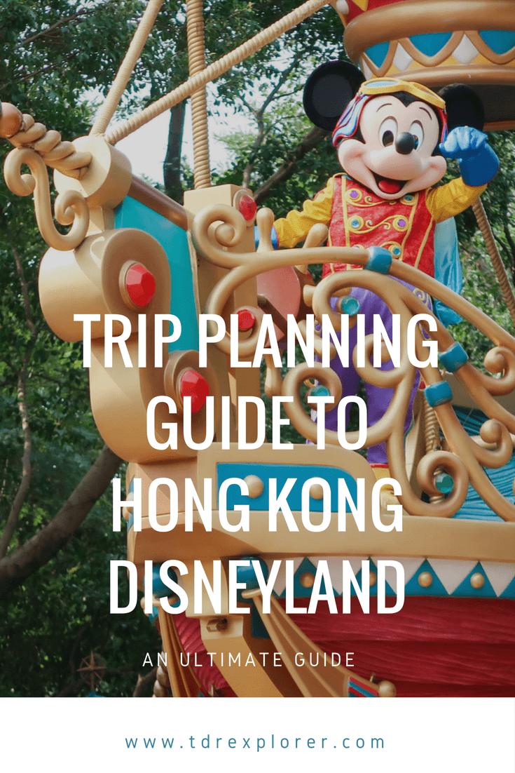 Ultimate Trip Planning Guide to Hong Kong Disneyland Pinterest