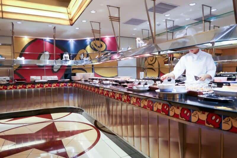 Breakfast Buffet Chef Mickey Disney Ambassador Hotel Tokyo Disneyland