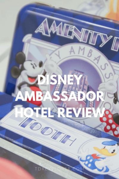 Disney Ambassador Hotel Review Tokyo Disney Resort Pinterest