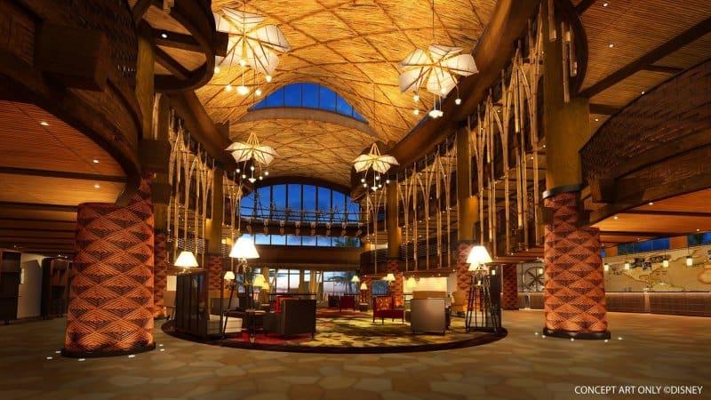 Disney Explorers Lodge Lobby