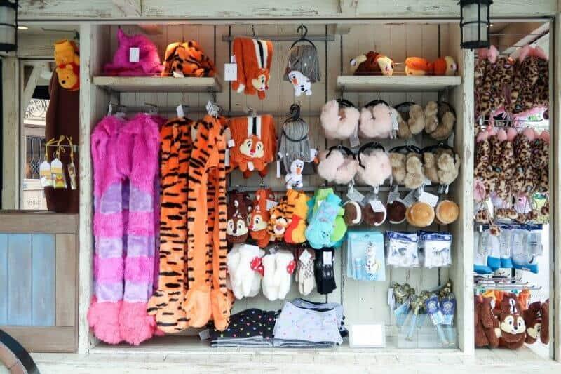 Fleece Winter Merchandise Tokyo Disneyland DisneySea