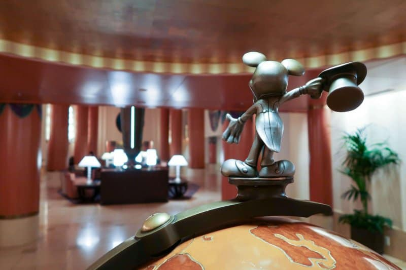 Globe Lobby Disney Ambassador Hotel Review Tokyo Disney Resort