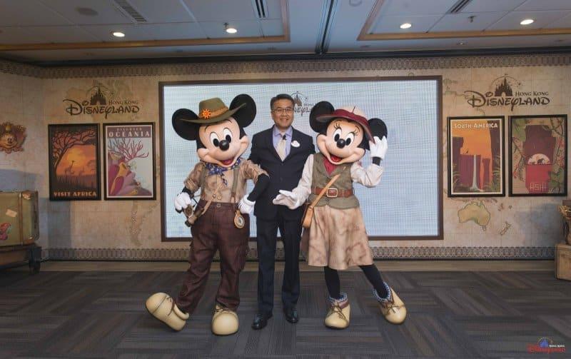 Hong Kong Disneyland Disney Explorers Lodge Mickey and Minnie Costumes