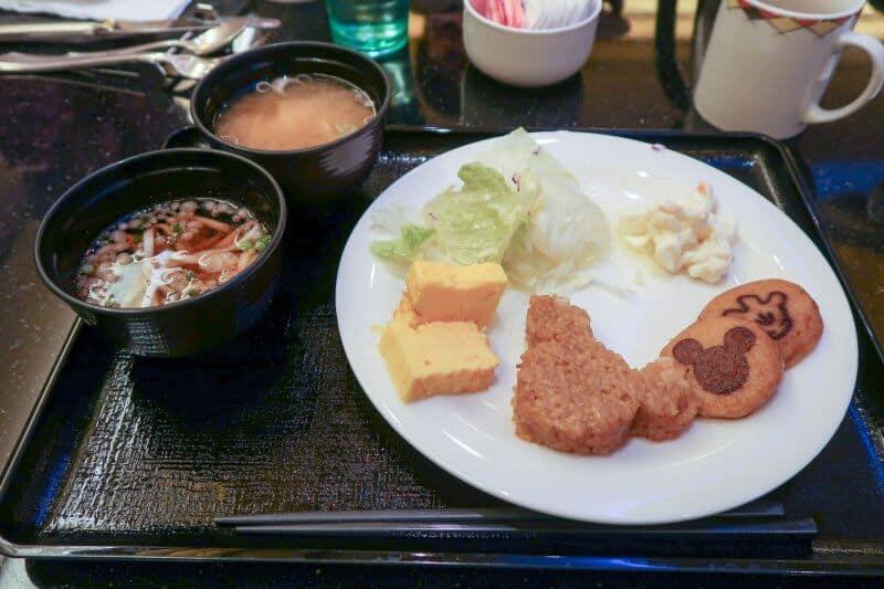 Japanese Breakfast Chef Mickey Disney Ambassador Hotel Tokyo Disneyland