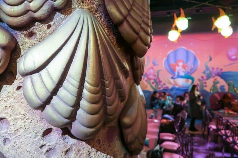 Little Mermaid Decor Sebastian's Calypso Kitchen Tokyo DisneySea