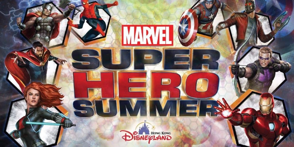 Marvel Super Hero Summer Details at Hong Kong Disneyland
