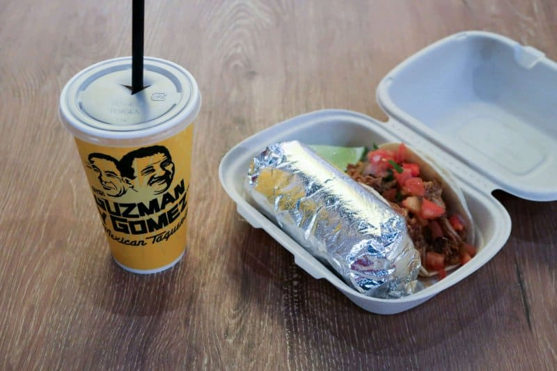 Meal Guzman Y Gomez Ikspiari Review