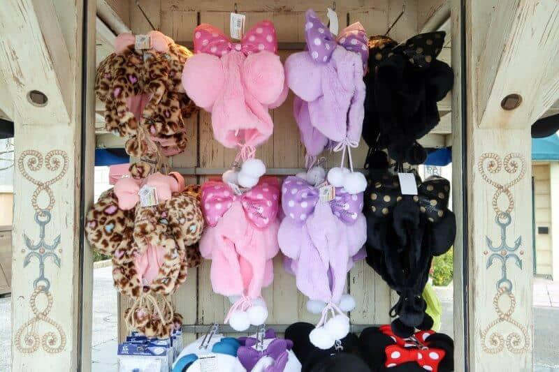 Minnie Mouse Winter Headwear Tokyo Disneyland DisneySea