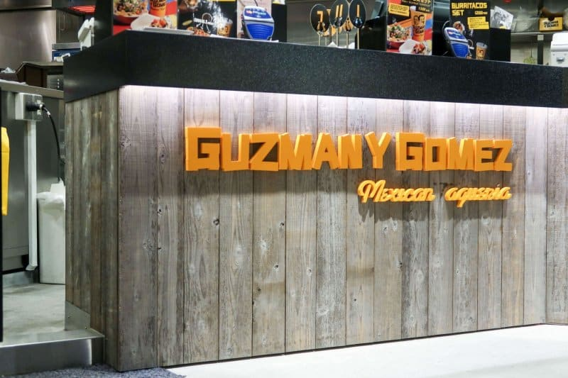 Ordering Counter Guzman Y Gomez Ikspiari Review