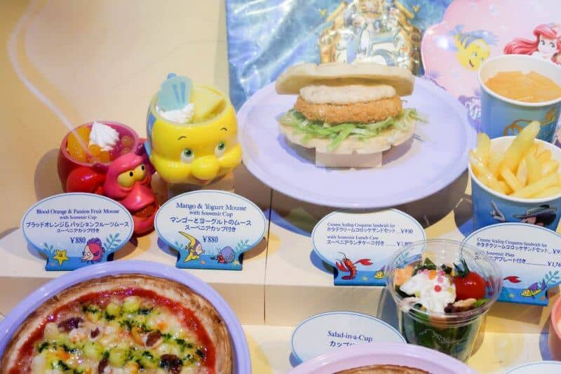 Plastic Food Display Upclose Sebastian's Calypso Kitchen Tokyo DisneySea