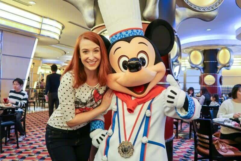Sammi & Mickey Mouse Chef Mickey Disney Ambassador Hotel Tokyo Disneyland