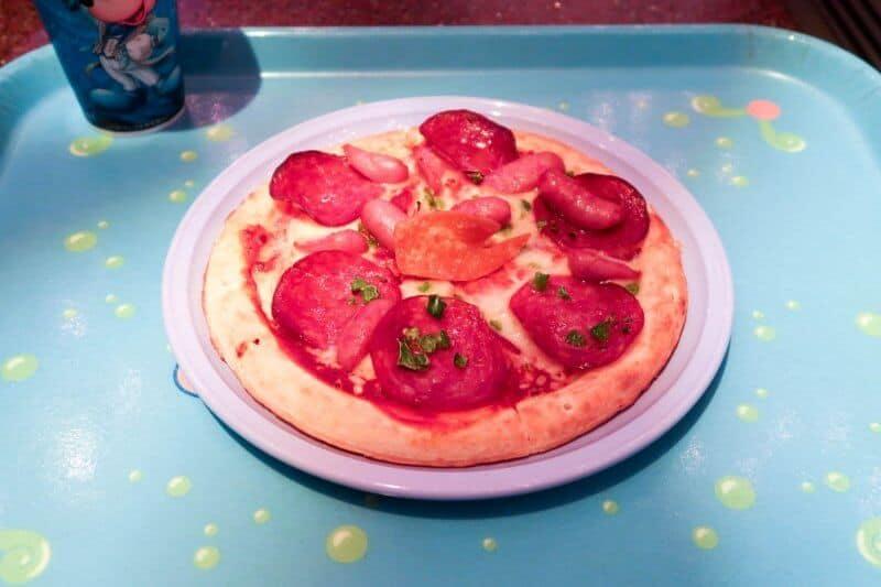 Sausage Pizza Sebastian's Calypso Kitchen Tokyo DisneySea