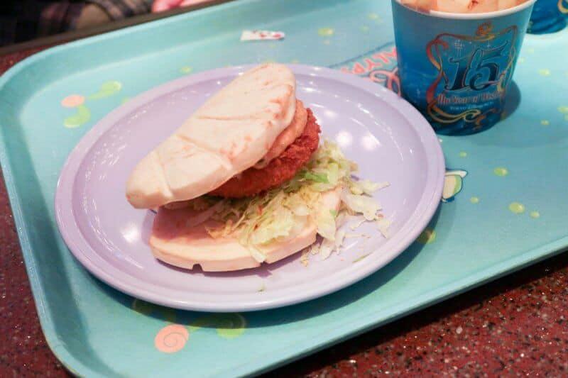 Scallop Cutlet Sandwich Sebastian's Calypso Kitchen Tokyo DisneySea