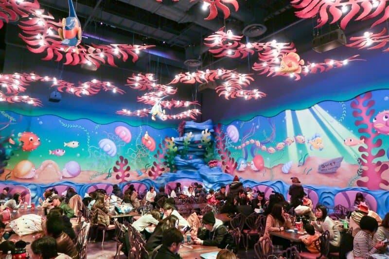 Seating Area Sebastian's Calypso Kitchen Tokyo DisneySea