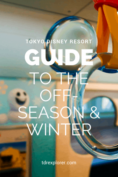Slow or Off-Peak Winter Season at Tokyo Disney Resort Pinterest