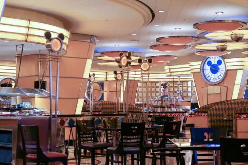 Tables and Interior Chef Mickey Disney Ambassador Hotel Tokyo Disneyland