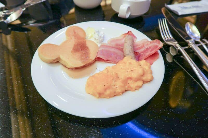 Western Breakfast Chef Mickey Disney Ambassador Hotel Tokyo Disneyland