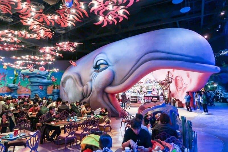 Whale Decor Sebastian's Calypso Kitchen Tokyo DisneySea