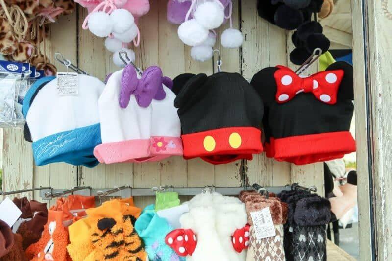 Winter Beanies Hats Tokyo Disneyland DisneySea