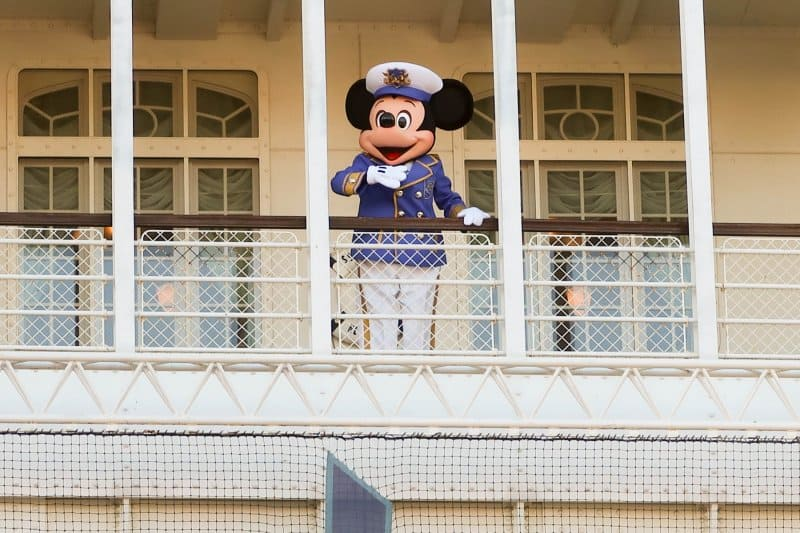 A Table is Waiting Tokyo DisneySea Captain Mickey