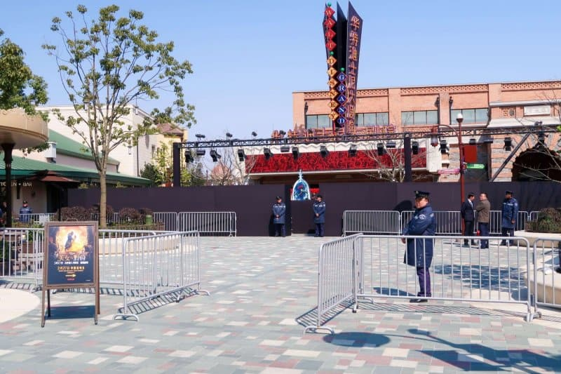 Beauty and the Beast China Premiere Shanghai Disney Resort Disneytown