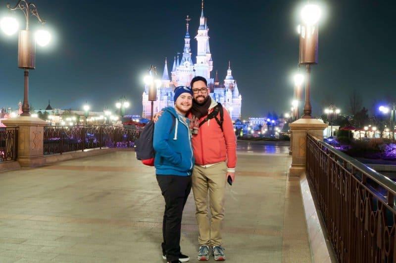Chris and Bryson Shanghai Disneyland