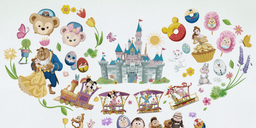 Disney Friends Springtime Carnival Starts March 2017 at Hong Kong Disneyland