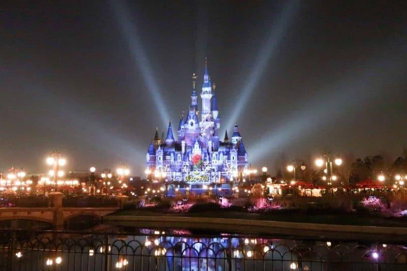 Enchanted Storybook Castle Beauty and the Beast Shanghai Disneyland