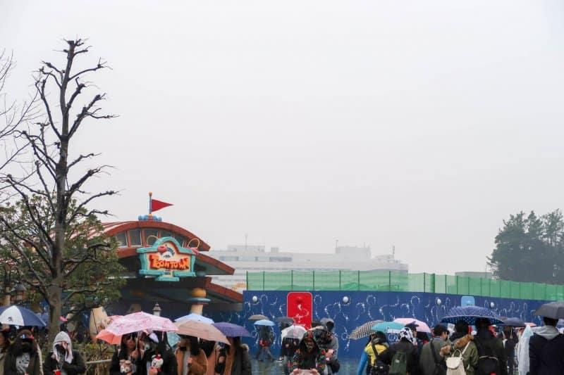 Fantasyland Construction Tokyo Disneyland