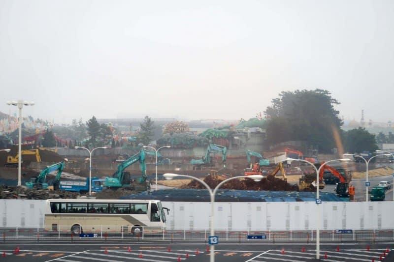 Fantasyland Construction Tokyo Disneyland Landscape