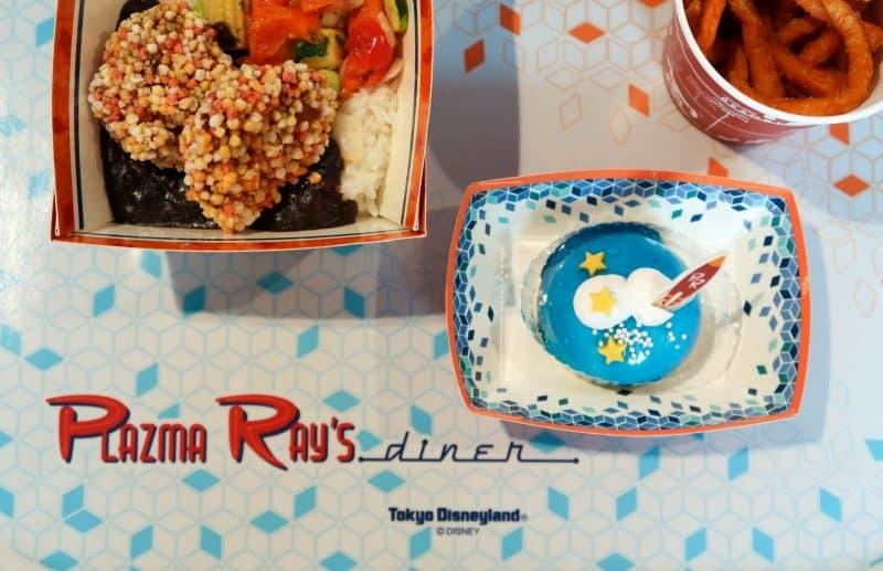 Food on Tray Plazma Ray's Diner Tokyo Disneyland