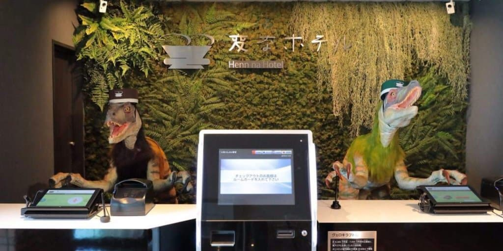 Robot Operated Hotel Now Open Near Tokyo Disney Resort
