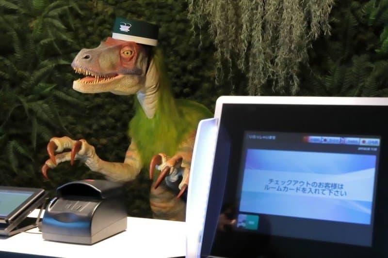 Henn na Hotel Maihama Tokyo Bay Robot Dinosaur