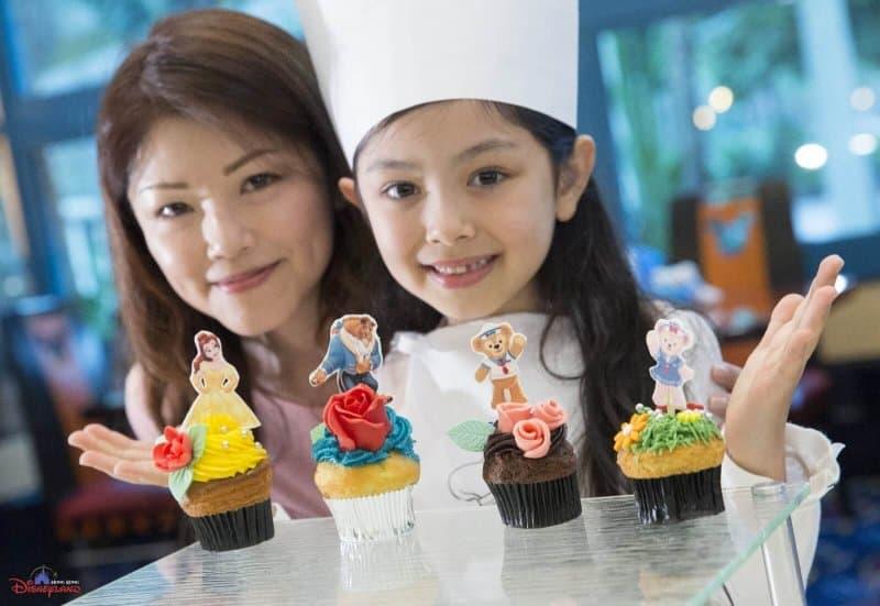 Hong Kong Disneyland Disney Friends Springtime Carnival Cupcakes