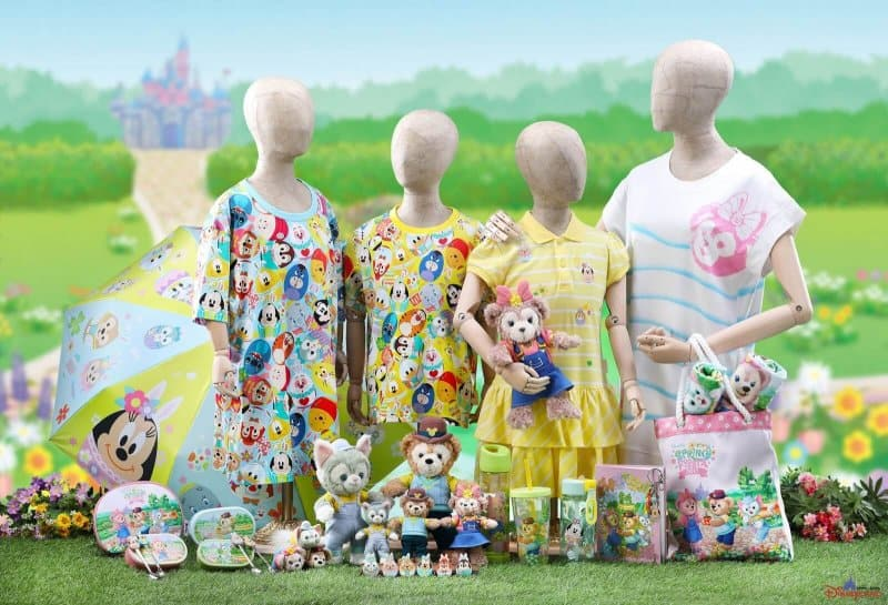 Hong Kong Disneyland Disney Friends Springtime Carnival Merchandise