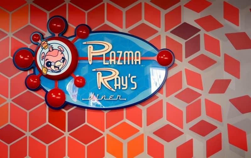 Indoor Signage Plazma Ray's Diner Tokyo Disneyland
